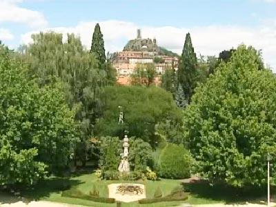 jardin henri vinay au puy en velay haute loire auvergne