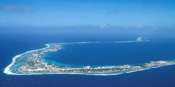 paysage des iles kiribati - Image